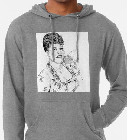 Ella Fitzgerald Famous Jazz Musician Lightweight Hoodie