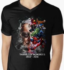 God Bless and Thank You For The Memories V-Neck T-Shirt