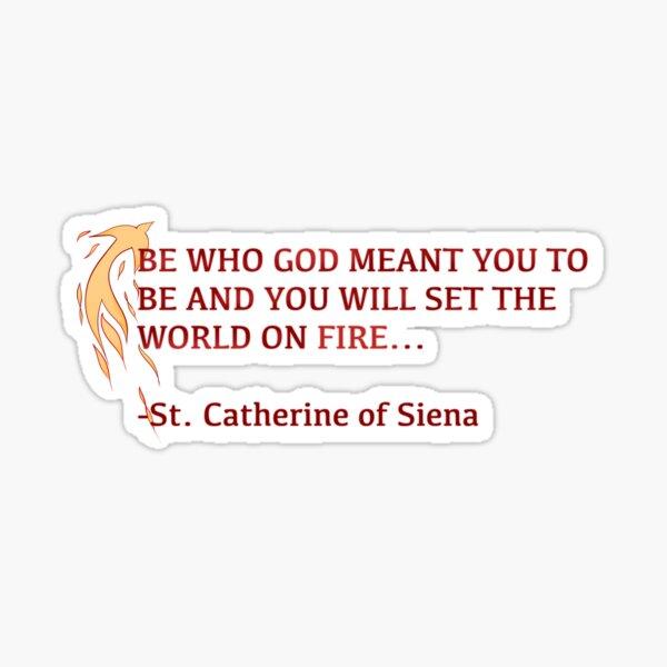 Set The World On Fire! Sticker