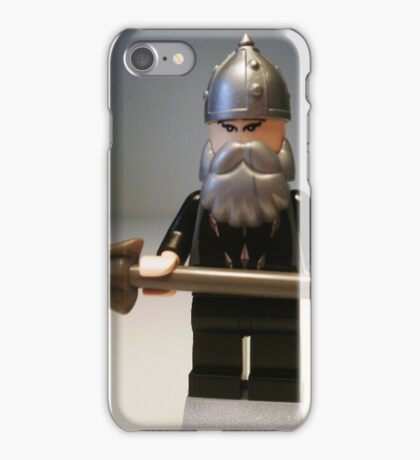 Mongolian Chinese Warrior Chief Custom Minifig iPhone Case/Skin
