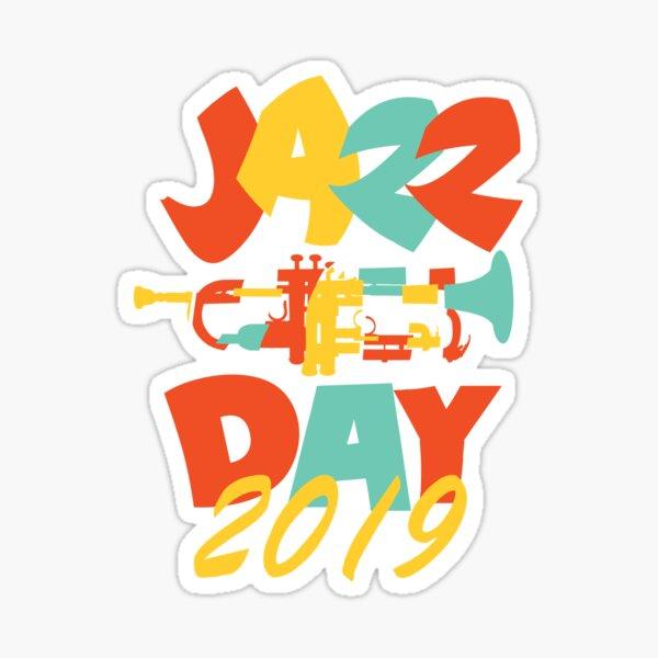 Internationaler Jazztag 2019 - Fancy Fresh Style Sticker