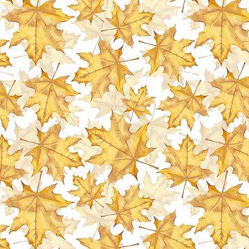 Marple leaves by Gribanessa