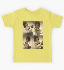 Judo Karate Martial Arts Girl Custom Minifigure  Kids Tee