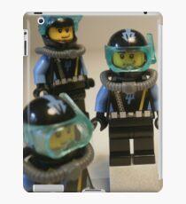 Diver 1 Minifigure iPad Case/Skin