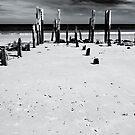 Port Willunga 1 (bw) by Werner Padarin