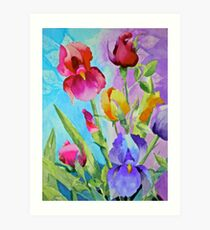 Spring Bouquet - To Brighten up Your Day Art Print