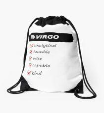 Virgo Traits Astrology Horoscope Birth Sign Drawstring Bag