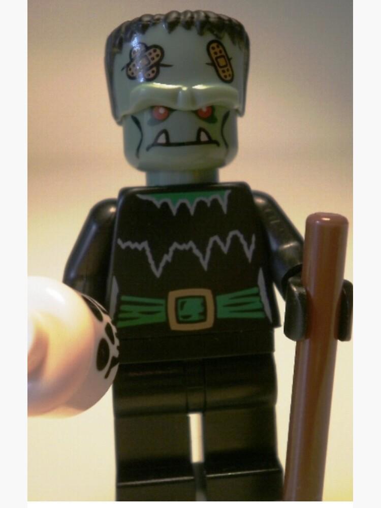 Frankensteins Monster Custom Minifigure with Skull von Chillee