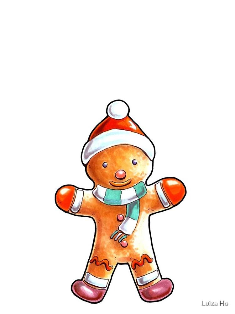Gingerbread Buddy by teapotsandhats