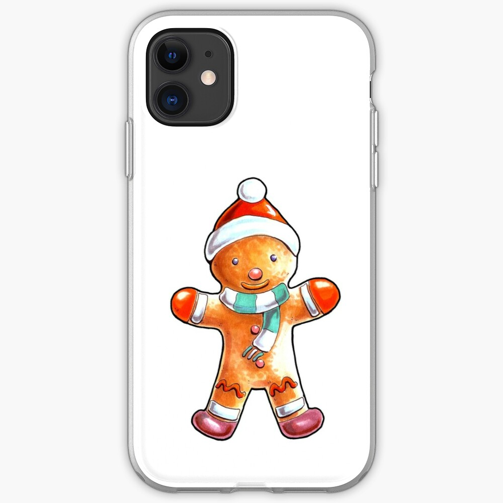 Gingerbread Buddy iPhone Case & Cover