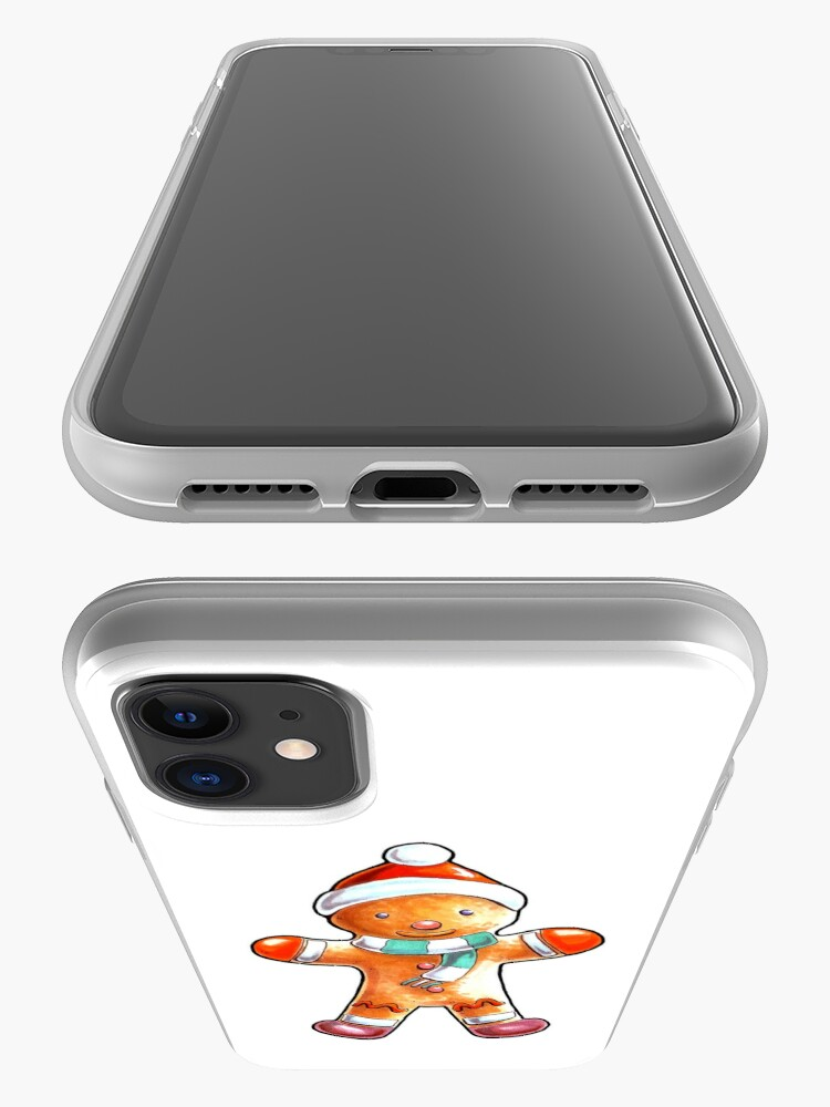 Alternate view of Gingerbread Buddy iPhone Case & Cover