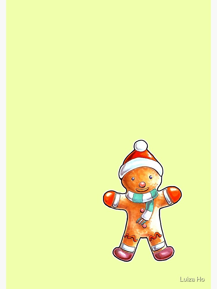 Gingerbread Buddy by teapotsandhats