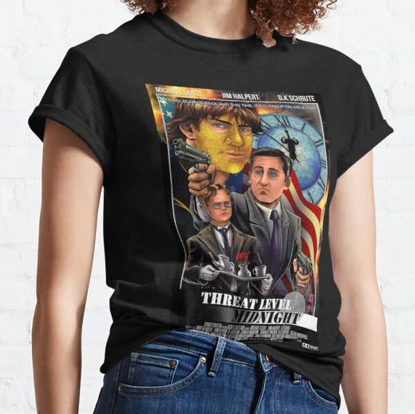 Threat Level Midnight - The Office Classic T-Shirt