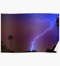 Lightning strike out Poster