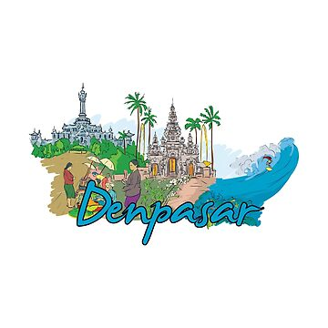 Denpasar Indonesia - Beautiful Places Around The World by Ding-One