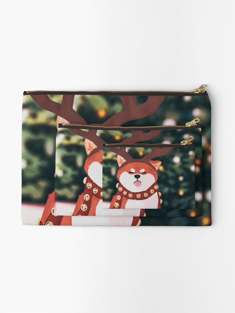 Alternate view of It's The Most Wonderful Time Of The Year Zipper Pouch