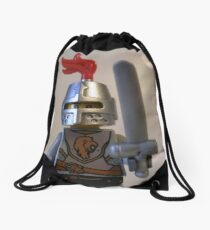 Lion Knight Armor with Lion Head and Belt Drawstring Bag