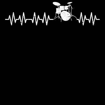 Drums Heartbeat Beat Drummer Band Music Percussion by kieranight