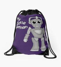 My Little Cyberman Drawstring Bag