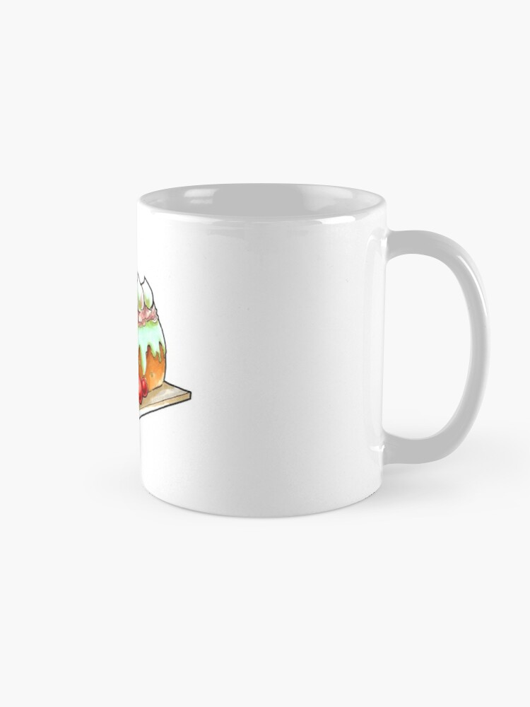 Alternate view of Starlight Log Mug
