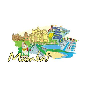 Mumbai India - Beautiful Places Around The World by Ding-One