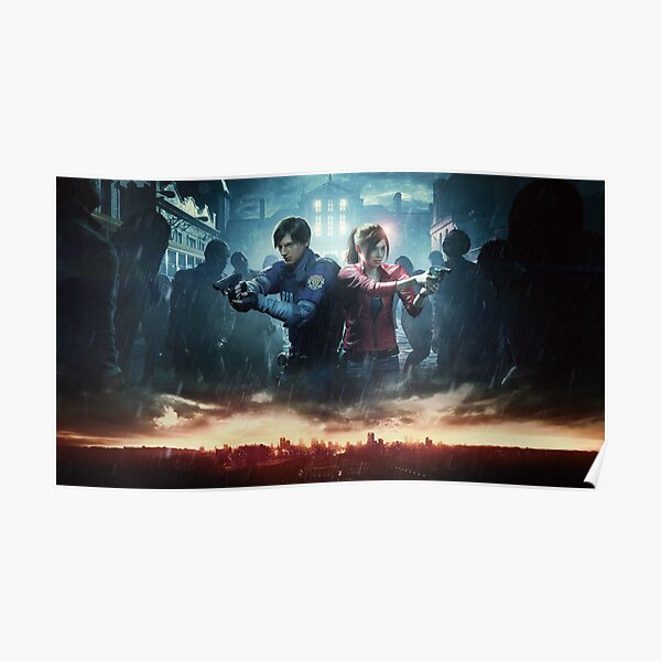 Resident Evil 2 Posters Redbubble