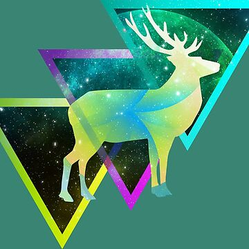 Abstract Space Buck by choppy777