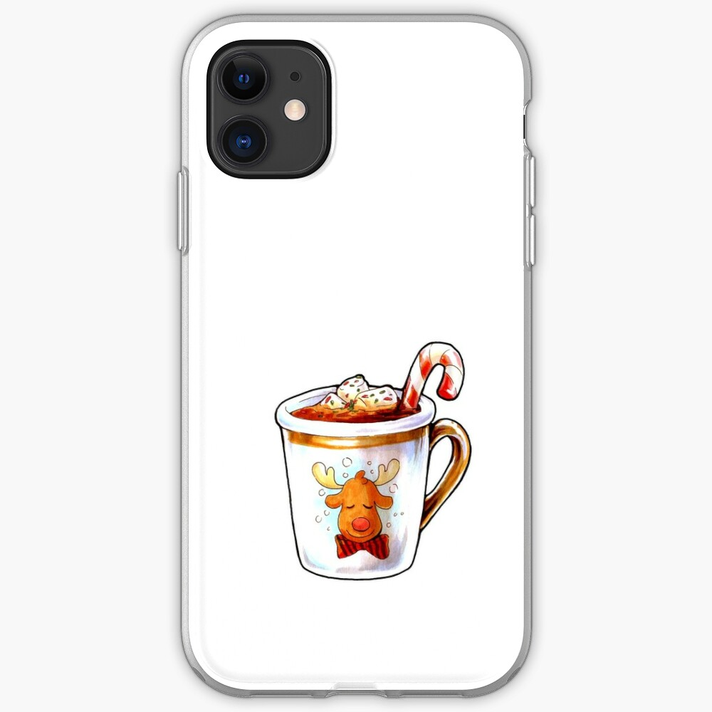 Rudolph's Hot Cocoa iPhone Case & Cover