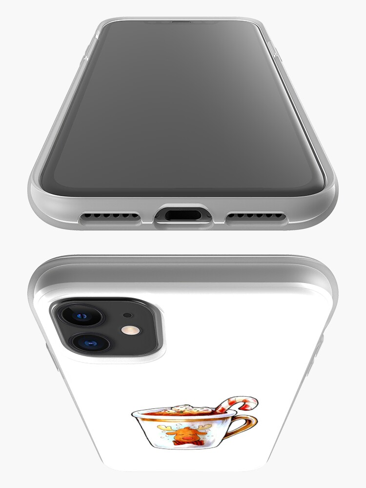 Alternate view of Rudolph's Hot Cocoa iPhone Case & Cover