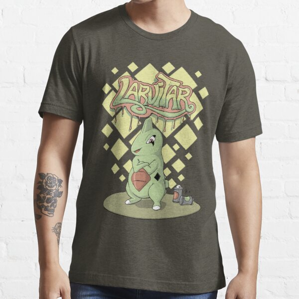 Graffiti Larvitar Essential T-Shirt