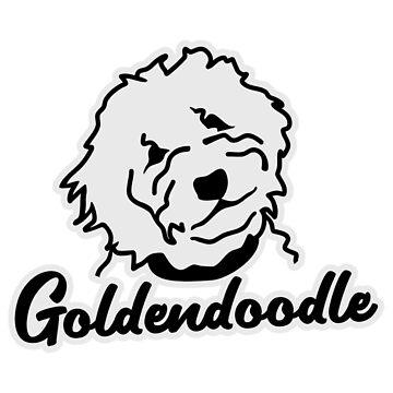 Goldendoodle by Designzz