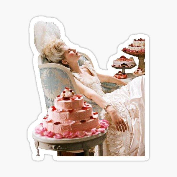Qu'ils mangent du gâteau Sticker