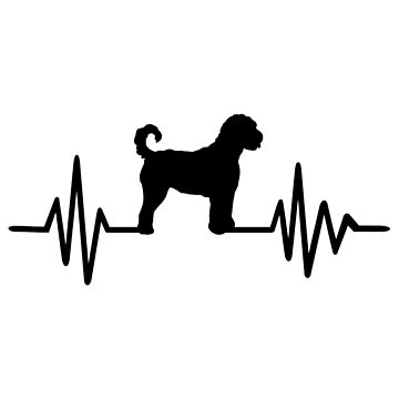 Heartbeat Goldendoodle by Designzz