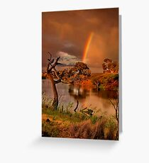 """""""The Covenant"""" Greeting Card"""