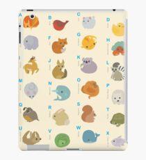 Animal Alphabet A-Z iPad Case/Skin