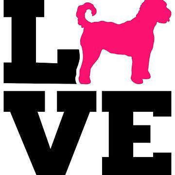 Goldendoodle love by Designzz