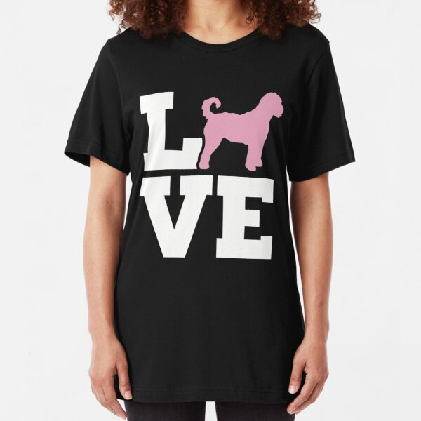 Moyen Poodle Dog Paw Puppy Name Breed Polo Shirt Clothes Men Women