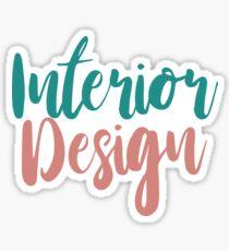 Interior Design Sticker