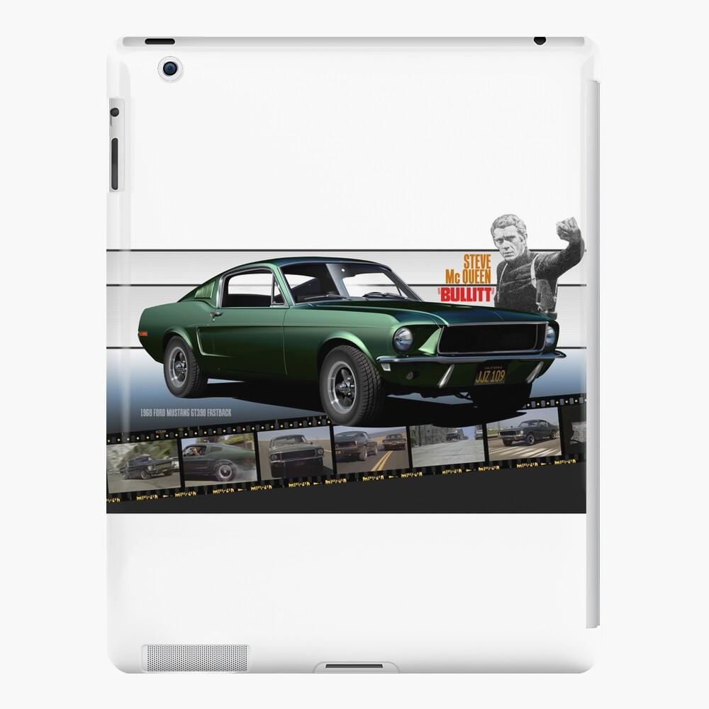 Steve McQueen Bullitt 1968 Ford Mustang iPad-Hülle & Skin