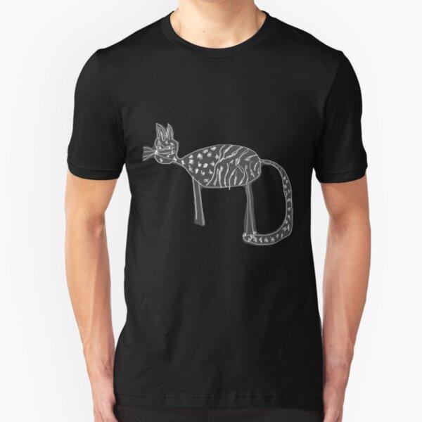 Katzen Liebe Slim Fit T-Shirt