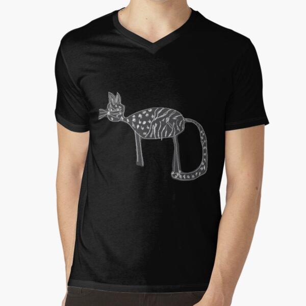 Cats love V-Neck T-Shirt