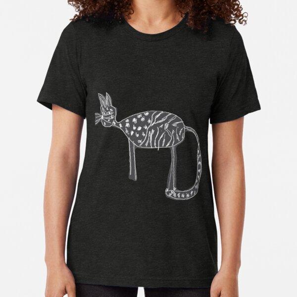 Cats love Tri-blend T-Shirt