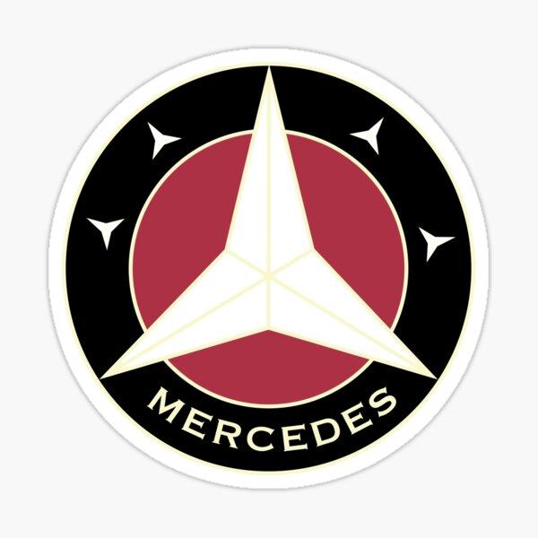 EMBLÈME CLASSIQUE DE MERCEDES Sticker