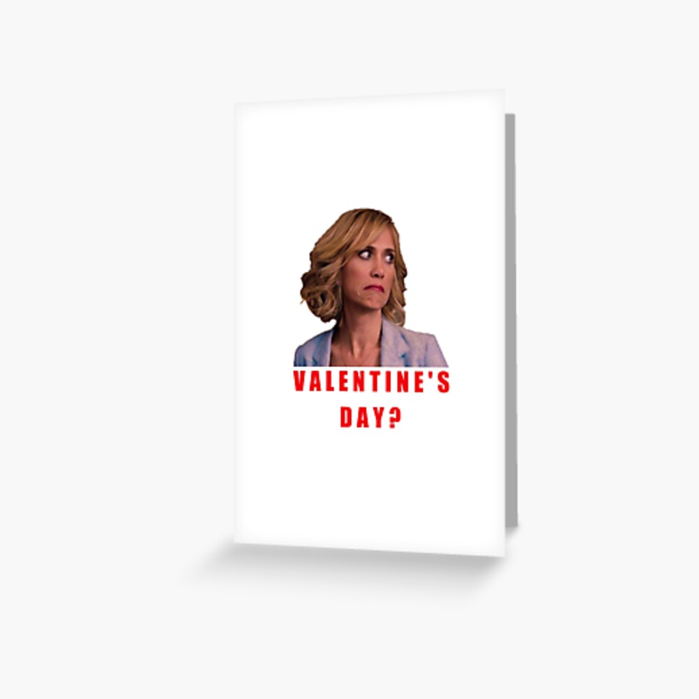 Bridesmaids Valentine S Day Galentine S Day Best Friends Good Vibes Crazy Cool Roll Eyes Sarcasm Irony Geek Forever Alone Present Gift Ideas Greeting Card By Avit1 Redbubble
