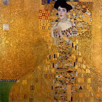 Portrait of Adele Bloch-Bauer I, Gustav Klimt by fourretout