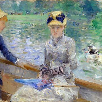 Summer day, Berthe Morisot by fourretout