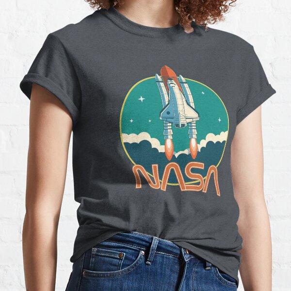Logo de la navette spatiale vintage de la NASA T-shirt classique