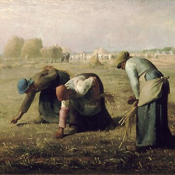 The Gleaners, Jean-François Millet by fourretout