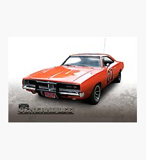 Dukes of Hazzard General Lee - 1969 Dodge Charger Photographic Print