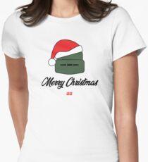 SiegeGG - Tachanka's Merry Christmas Wish Women's Fitted T-Shirt